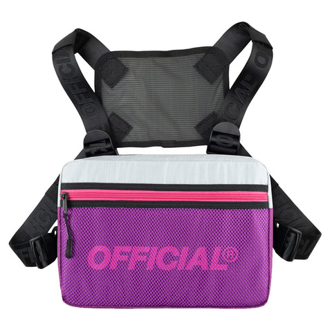 Official Mini Melrose Black Chest Utility Bag