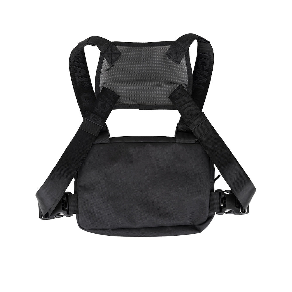 Official Compact Essential Black Chest Bag