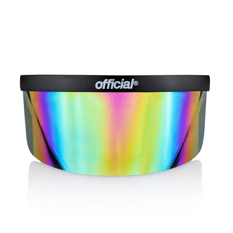 Official Rainbow Mirror Eye Shield Face Visor