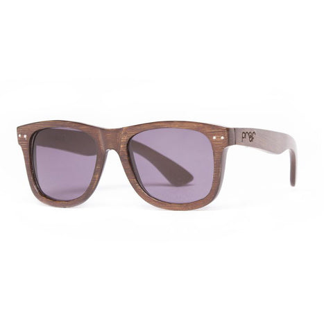 Proof Ontario Stained Bamboo Gray Sunglasses