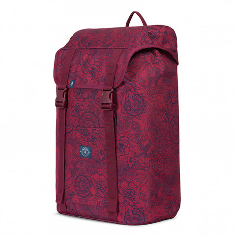 Parkland Westport Atomic Maroon Backpack