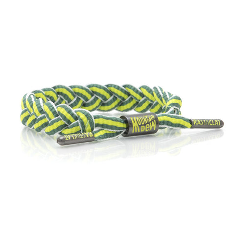 Rastaclat Mountain Dew Stripe Bracelet