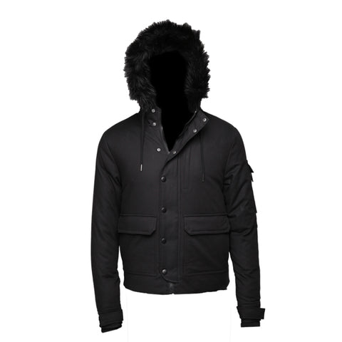 Sprayground Black Chopper Jacket