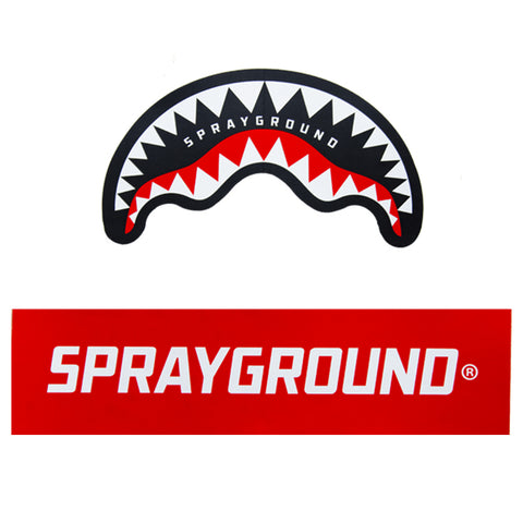 Sprayground Shark Sticker Pack