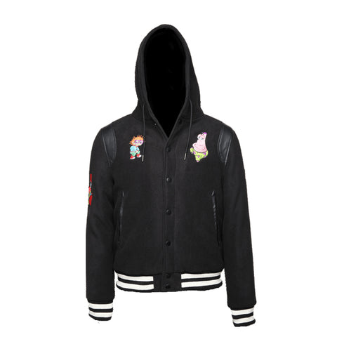 Sprayground Nickelodeon Anime Varsity Jacket