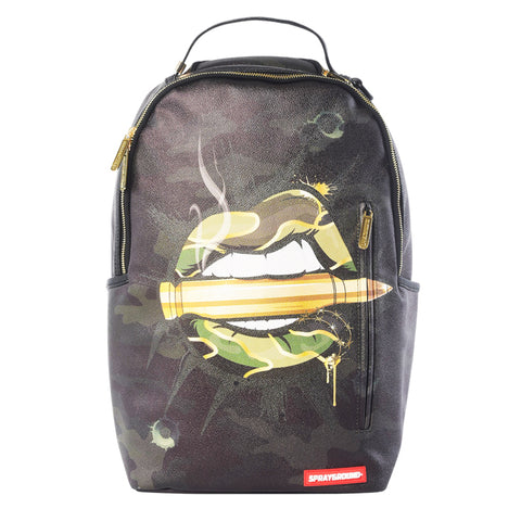 Sprayground Army Lips Backpack