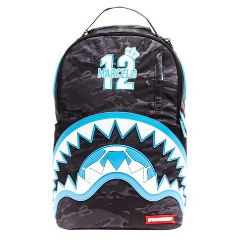 Sprayground Camo Shark Sling Bag