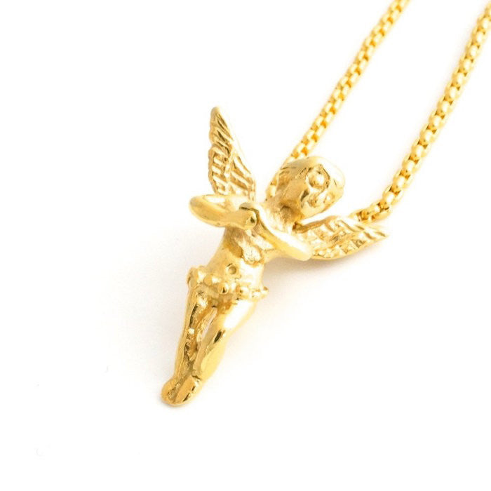 Veritas Micro Angel Necklace