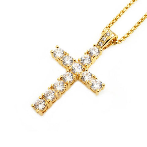 Veritas Remus Cross Necklace