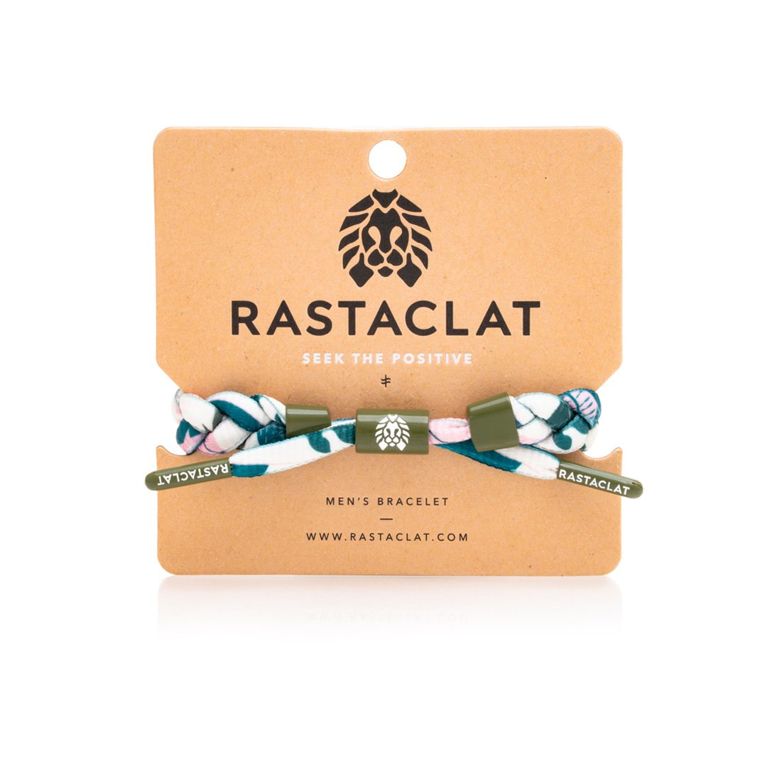 Rastaclat Two Ferns Bracelet
