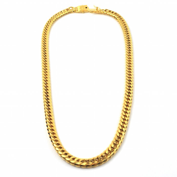 Gold Gods Jesus & Cuban Link Set