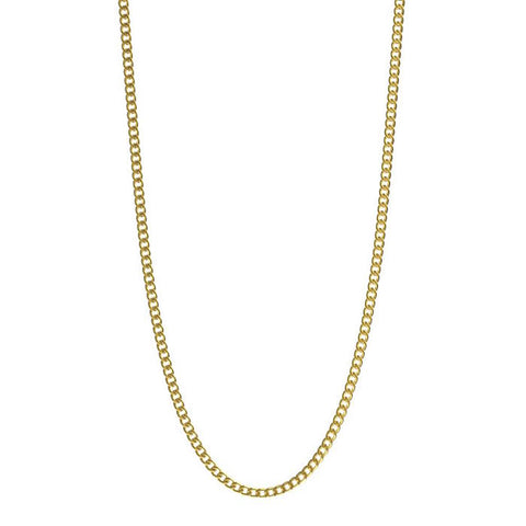 Mister Micro Curb Gold Chain