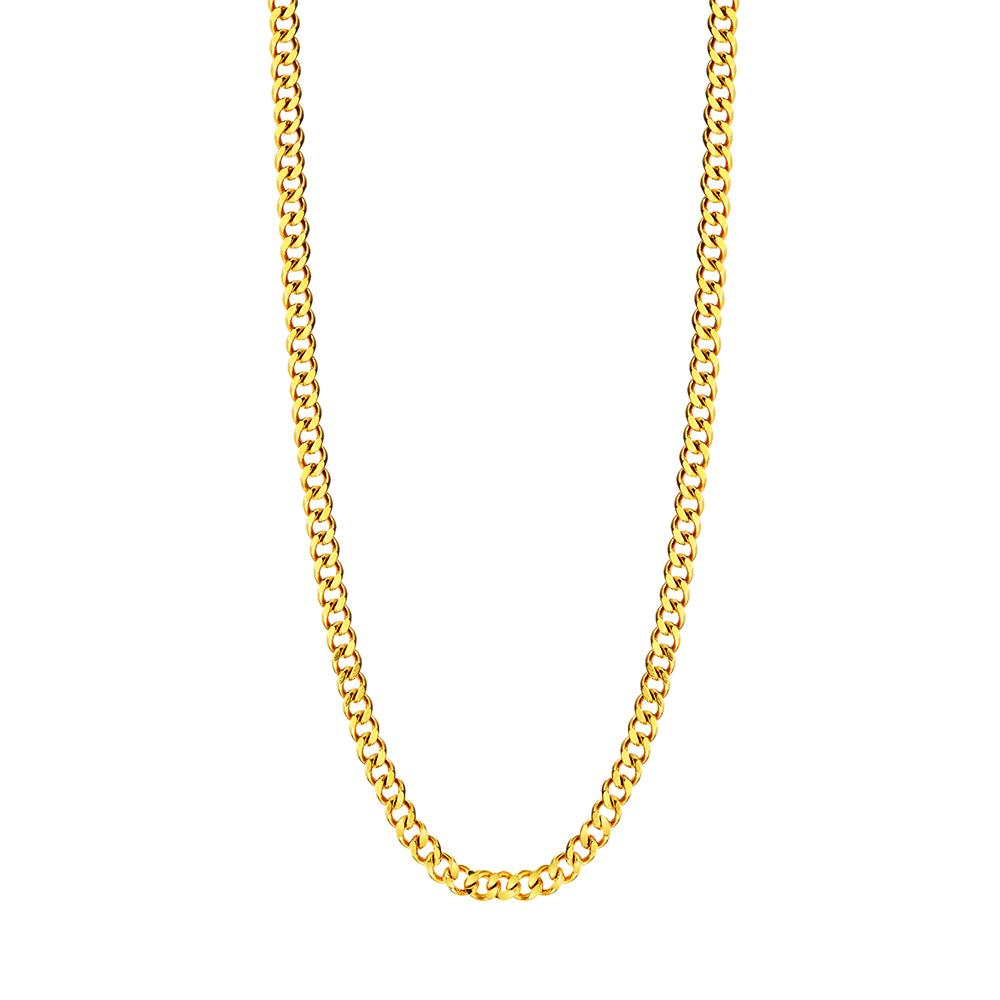 Mister Curb Link Gold Chain