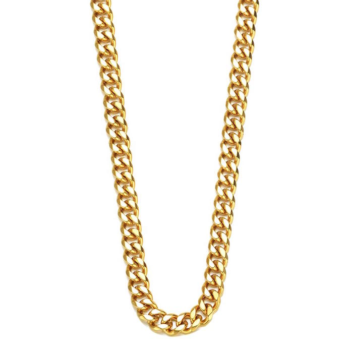Mister Curve Curb Gold Chain