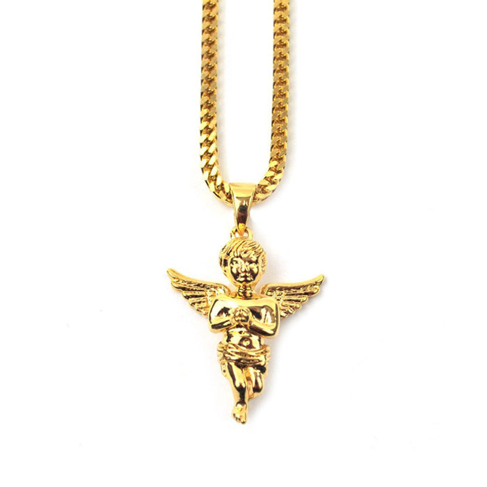 Gold Gods Angel Gold Necklace