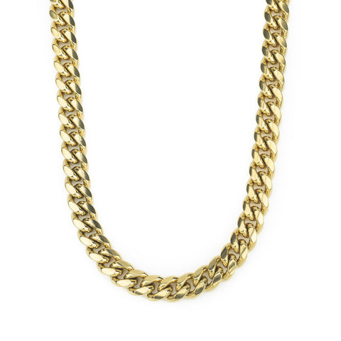 Gold Gods Miami Cuban Link Chain