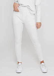 Olie Joggers - White Marl