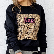 Load image into Gallery viewer, End Leopard Sweater - Black