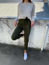 Load image into Gallery viewer, Dylan Knit Pants - Khaki