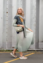 Load image into Gallery viewer, Stella + Gemma - Ombre' Iceberg Green Skirt