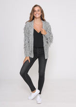 Load image into Gallery viewer, Jenny Tassel Cardigan - Grey