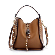 Load image into Gallery viewer, INKA Studded Bag - Tan