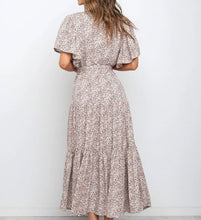 Load image into Gallery viewer, Gabbi Dress - Snow Leopard