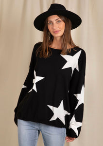 Scarlet Star Knit - Black