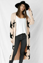 Load image into Gallery viewer, Starry Night Cardigan - Blush Beige