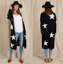 Load image into Gallery viewer, Starry Night Cardigan - Black