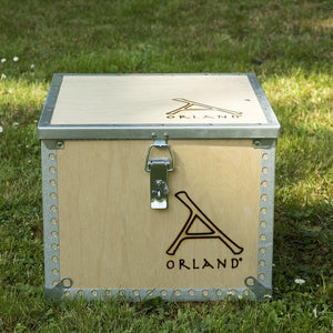 ORLAND COMPACT STOVE<br>with Flue Kit
