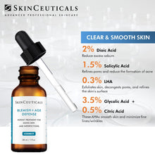 Load image into Gallery viewer, ANTI-BLEMISH SKINCEUTICALS PAIR 12.12 (Free Blemish & Age Serum + Cleanser worth $51.50)