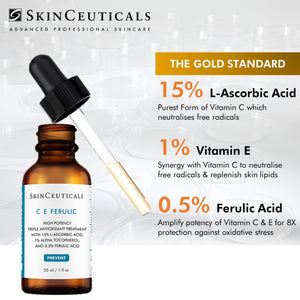 MOTHER'S DAY SPECIAL - CE FERULIC or TRIPLE LIPID RESTORE 2:4:2 at 15% OFF with 1 FOR 1 SKINCEUTICALS REJUVENATING FACIAL with 6 FREE PRODUCTS worth $150.13 (CE+DD+B5)