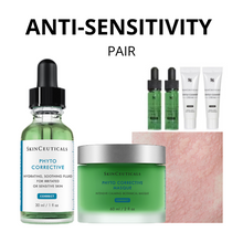 Load image into Gallery viewer, ANTI-SENSITIVITY SKINCEUTICALS PAIR 12.12 (Free Phyto Corrective Gel & Gentle Cleanser worth $38.40)
