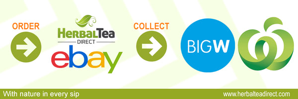 Herbal Tea Direct Click & Collect Ebay - Woolworths - Big W