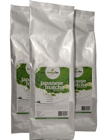 Japanese Matcha Regular Grade Bulk 1kg/35.3oz