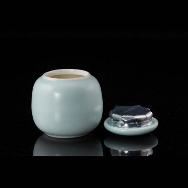 Porcelain Matcha Tea Caddy