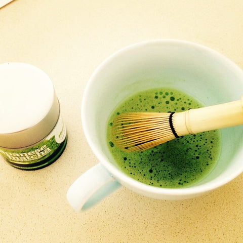 Simple Matcha Wake-up Cup