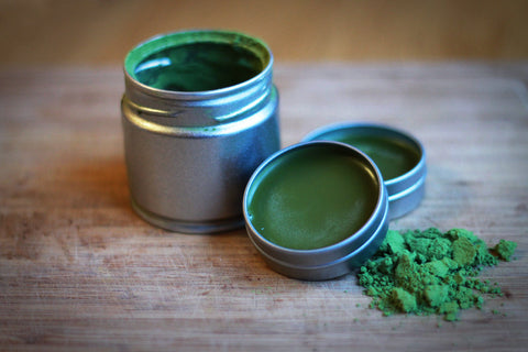 Matcha Green Tea Lip Balm Recipe