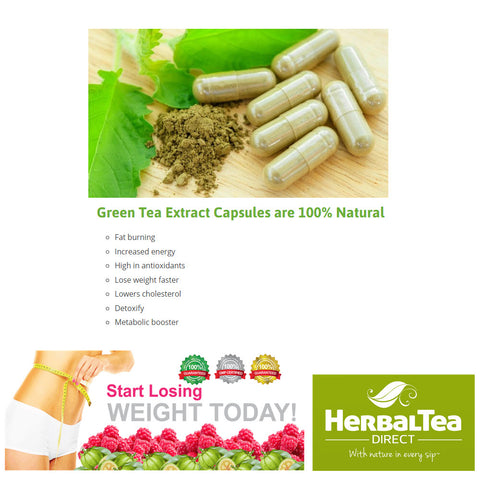 Green Tea Extract Capsules - Best Green Tea Capsules For Weight Loss