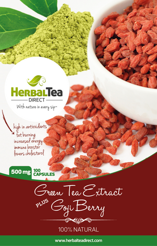 Green Tea Goji Berry Extract Capsules