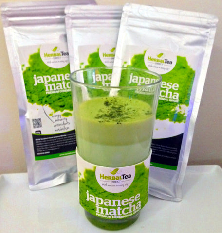Matcha Green Tea Latte Hot or Iced