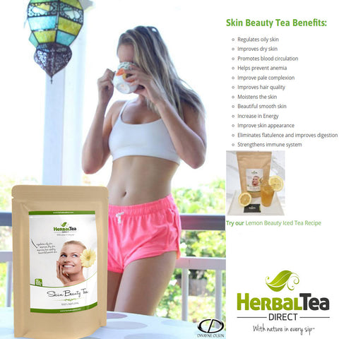 Skin Beauty Tea - Best Tea For Skin, hair, & Acne Care