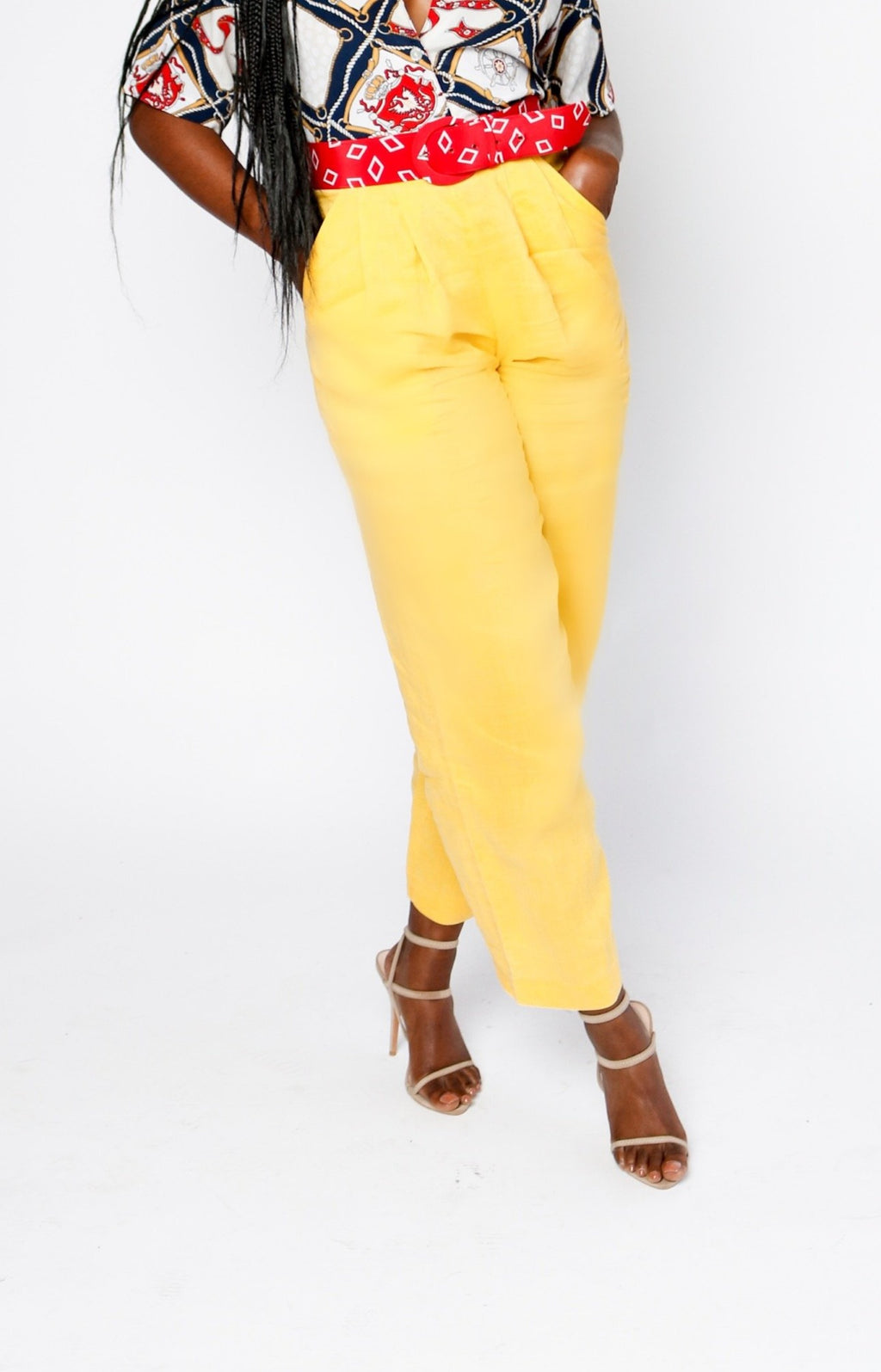 Banana Yellow Trouser