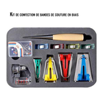Kit de confection de bandes de couture en biais
