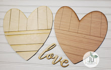 Load image into Gallery viewer, DIY Wood Pallet Heart Kit
