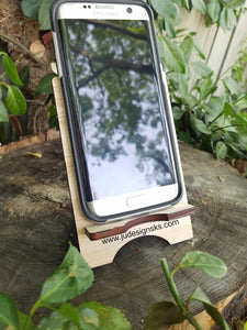 USA, Dad, Papa, Wood Cell Phone Stand