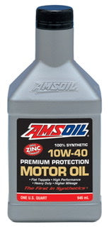 Amsoil premium protection motor oil ~ cars