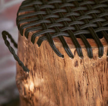 Load image into Gallery viewer, Teak Rope Stool