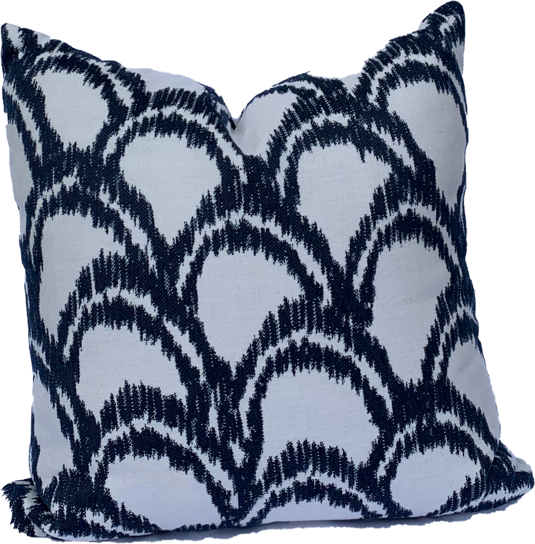 Outdoor - Sunbrella - Alena Denim Pillow
